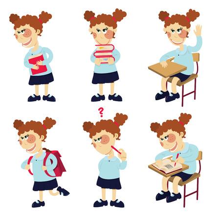 behaviours: chica estudiante