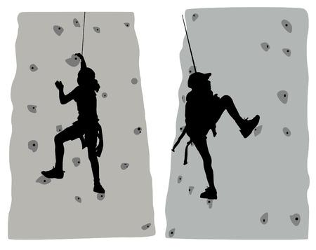 climber Stock Vector - 8764895