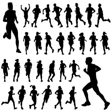 outdoor fitness: running