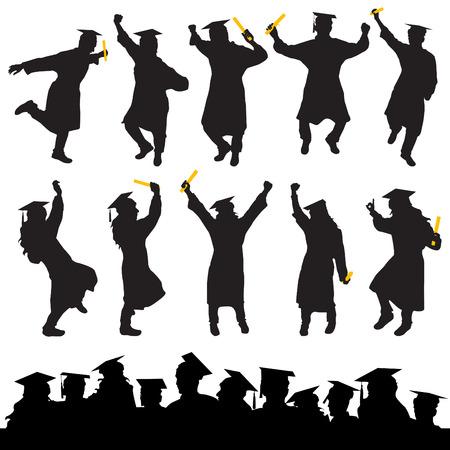 graduation Stock Vector - 8764919