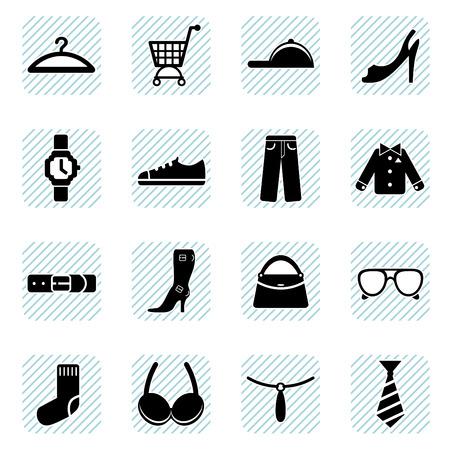 wear: fashion icons set