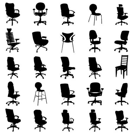 office chair: modern chairs  Illustration
