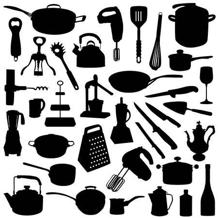 kitchen tools Stock Vector - 8764934