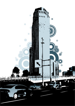 urban city Vector