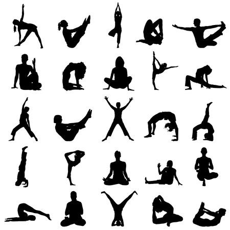 yoga meditation: posizioni yoga