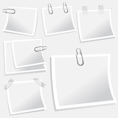note paper vector Stock Vector - 8883020