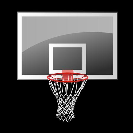 basketball net: tablero de baloncesto
