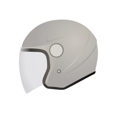 motorcycle helmet: motorcycle helmet vector
