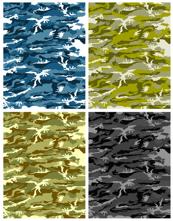 paramilitary: camouflage texture vector