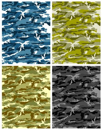 terrorists: vettore di texture Camouflage