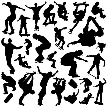 freestyle: skateboarding set