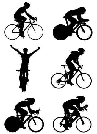bicycle silhouette: bicycle