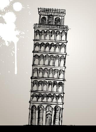 slanted: Torre de Pisa