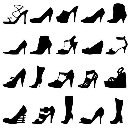 fashion women shoes  Stock Vector - 8967158