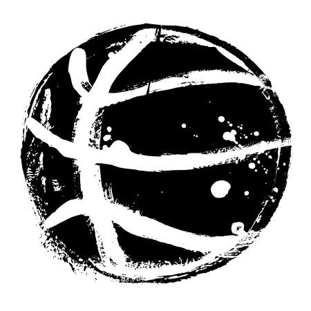 baloncesto: baloncesto grunge