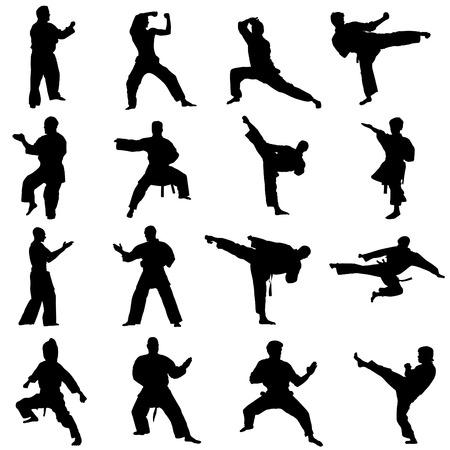 ninja: K�mpfer-set  Illustration