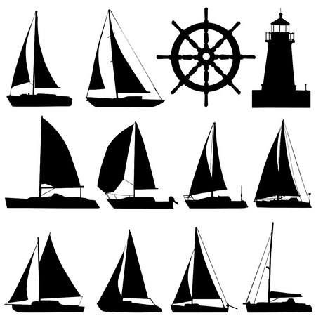 nautical flags: sailing