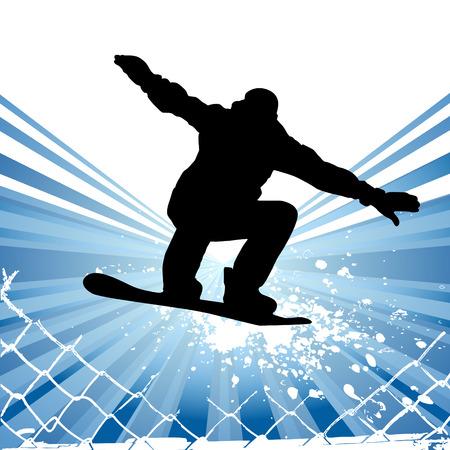 skateboarding Vektorové ilustrace