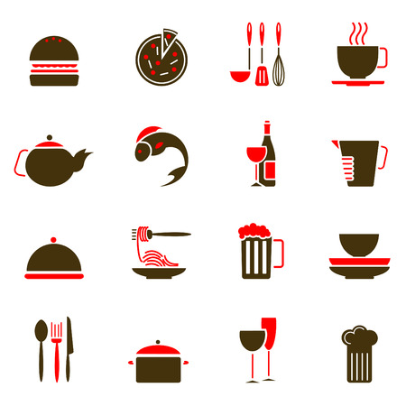 knife and fork: food icons