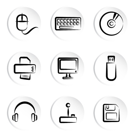 computer mouse: computer icons  Illustration
