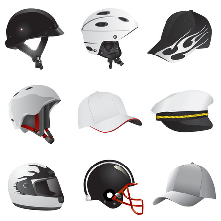 rollerblade: hat and helmet