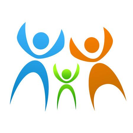 family symbol  Stock Vector - 9060000