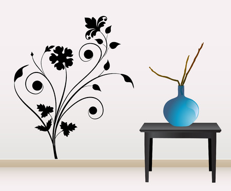table decoration: wall decoration