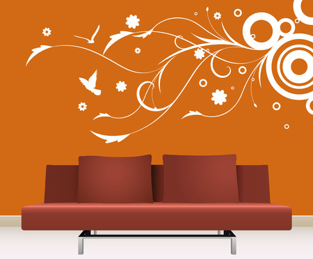 wall decoration  Stock Vector - 9060138