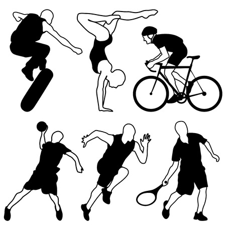 sport icons set Stock Vector - 9060185