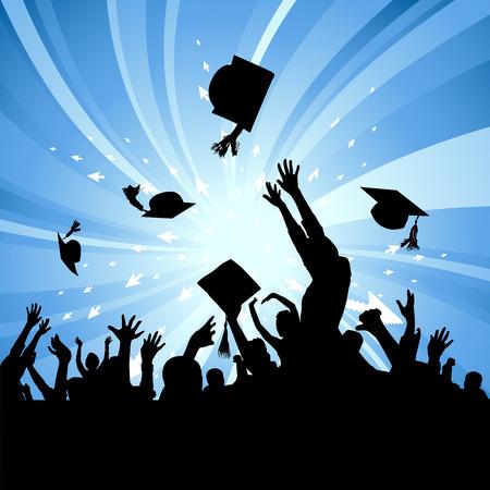colleges: Fiesta de graduaci�n