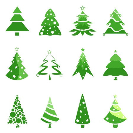 tree symbols  Stock Vector - 9148418