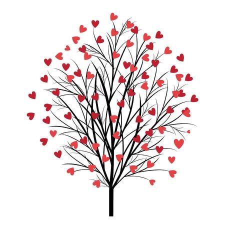 love tree vector  Vector