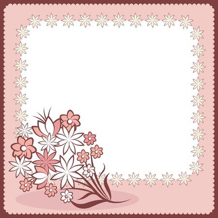 wedding card Stock Vector - 9196292