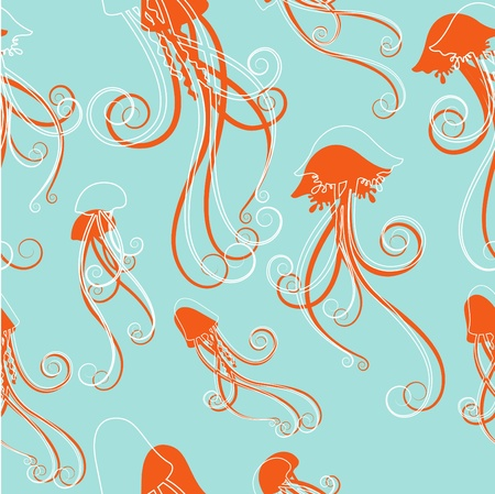 jelly fish: jellyfish pattern