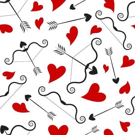 patterns and colors: love concept pattern