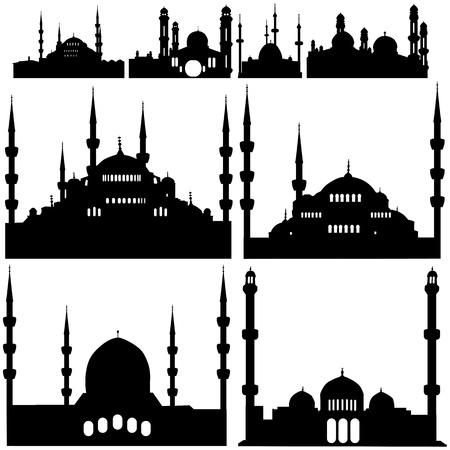 mezquita: vector de la mezquita