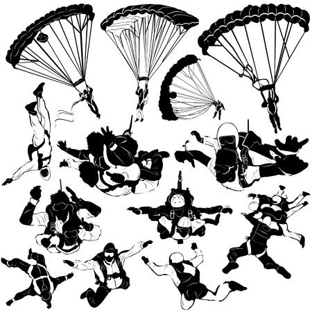 adrenalina: deportes extremos de cielo