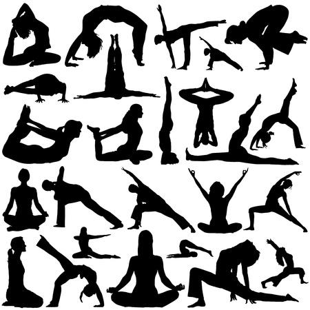 yoga vector 2 Stock Vector - 9247554