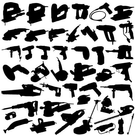vector de herramientas eléctricas