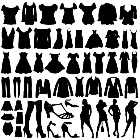 sandals: fashion design  vector