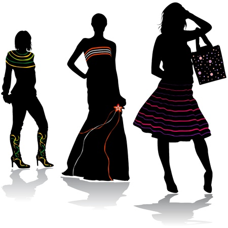 fashion design Stock Vector - 9247397