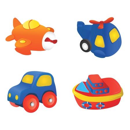 educativo: Ilustración de juguete Vectores
