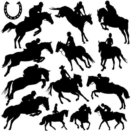 hooves: vettore di cavallo
