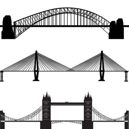 vecteur de pont  Vecteurs