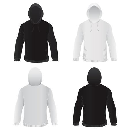sweat shirt template vector  Stock Vector - 9247399