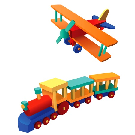 Ilustración de juguete