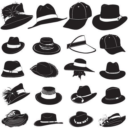 vecteur de hat Fashion