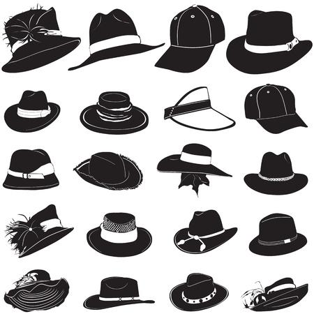 sombrero: vector de sombrero de moda