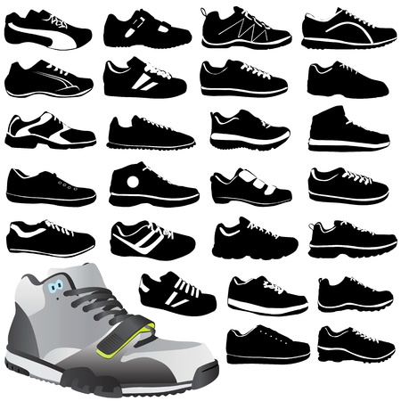shoe: fashion sport shoes