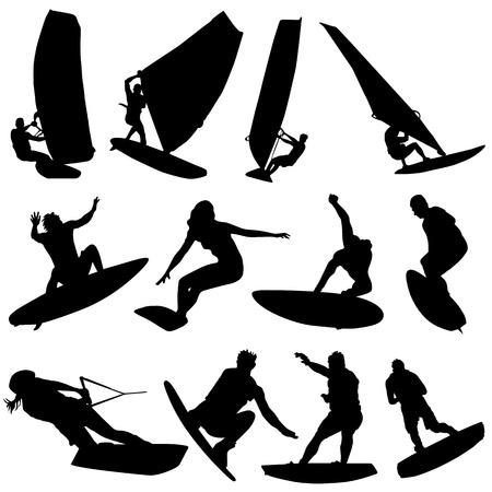 vecteur de surf